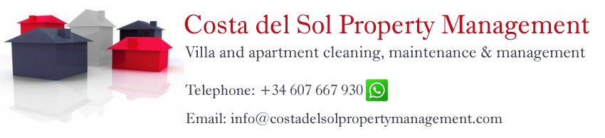 Costa del Sol property management prices.